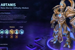 Heroes of the Storm Artanis Hero