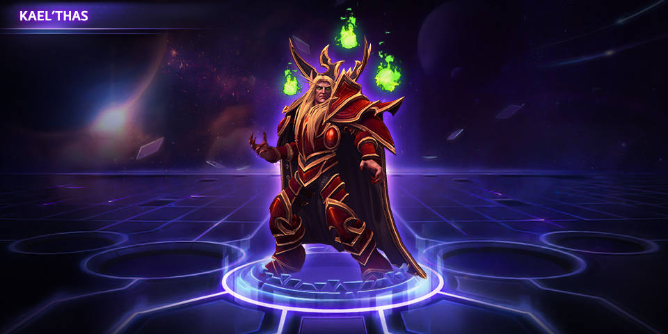 Heroes of the Storm Kael'thas Hero
