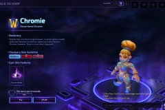 Heroes of the Storm Chromie Hero