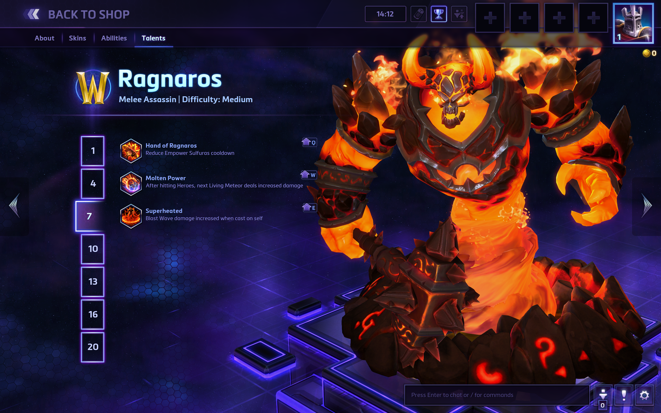 Heroes of the Storm Ragnaros Hero