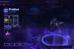 Heroes of the Storm Probius Hero