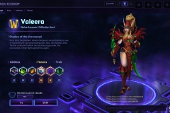 Heroes of the Storm Valeera Hero
