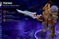 Heroes of the Storm Varian Hero